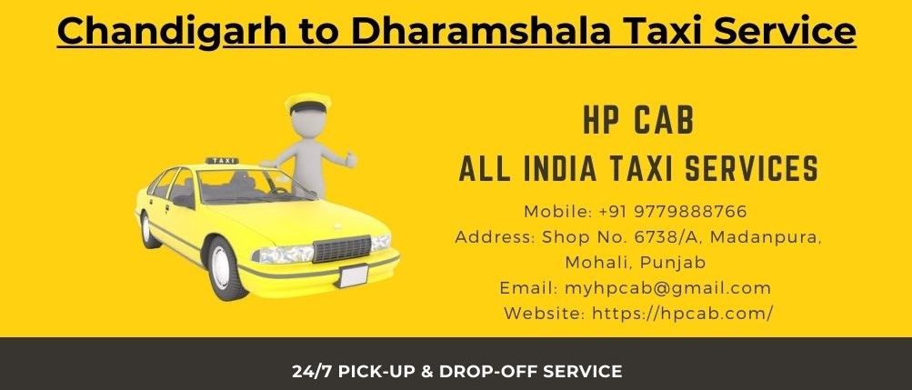 Chandigarh Dharamshala Taxi Service