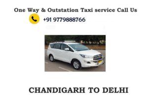 chandigarh to delhi taxi