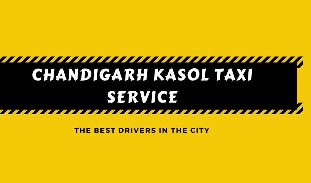 Chandigarh Kasol Taxi service